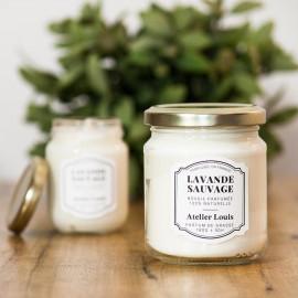 Bougie parfumée Lavande Sauvage