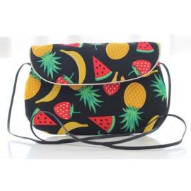 sac bandoulière grand modèle fruits