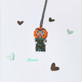 Collier Petite Princesse Kawaii