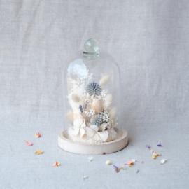 Cloche de fleurs séchées - Call it Magic