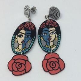 Boucles d'oreilles Frida courtes
