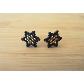 Boucles d'oreilles Étoile puces