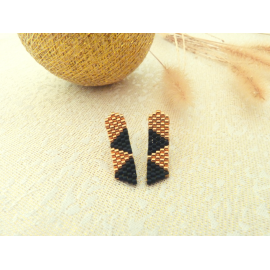 Boucles d'oreilles Antarès puces