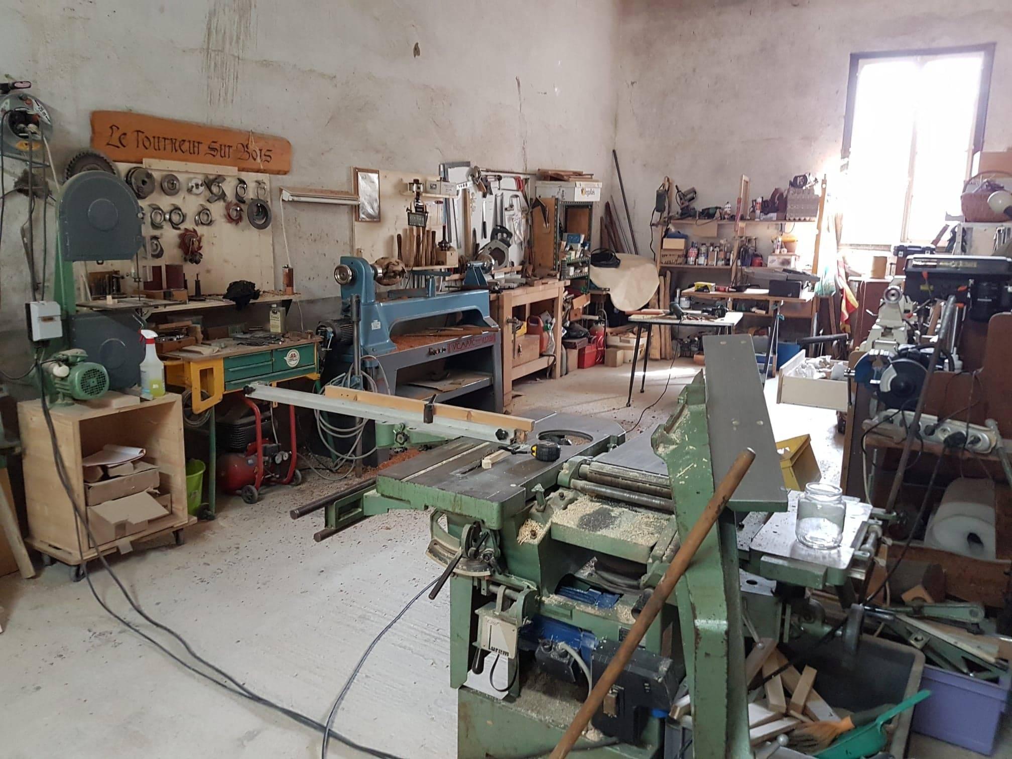 L'atelier du Tourneur sur Bois à Perpignan